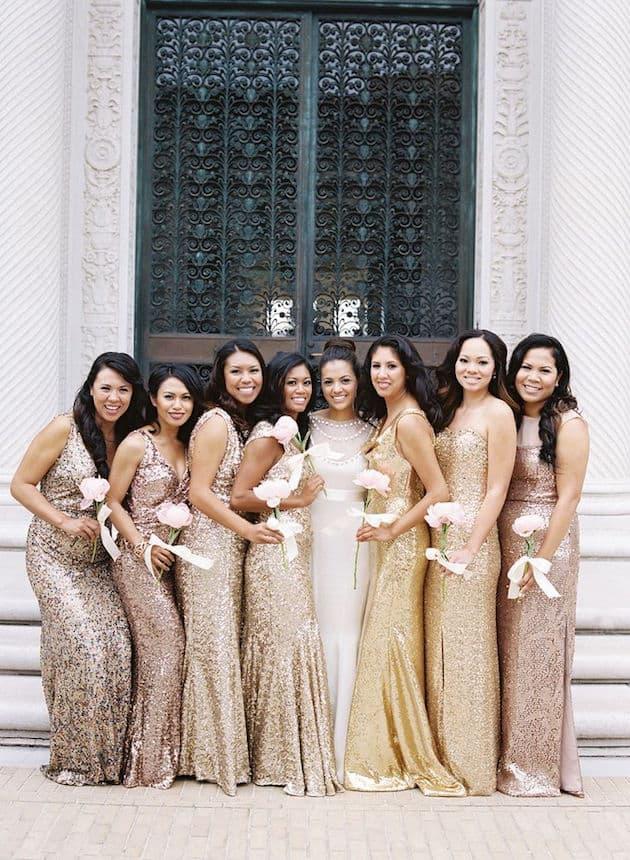 Choisir les robes des témoins du mariage -