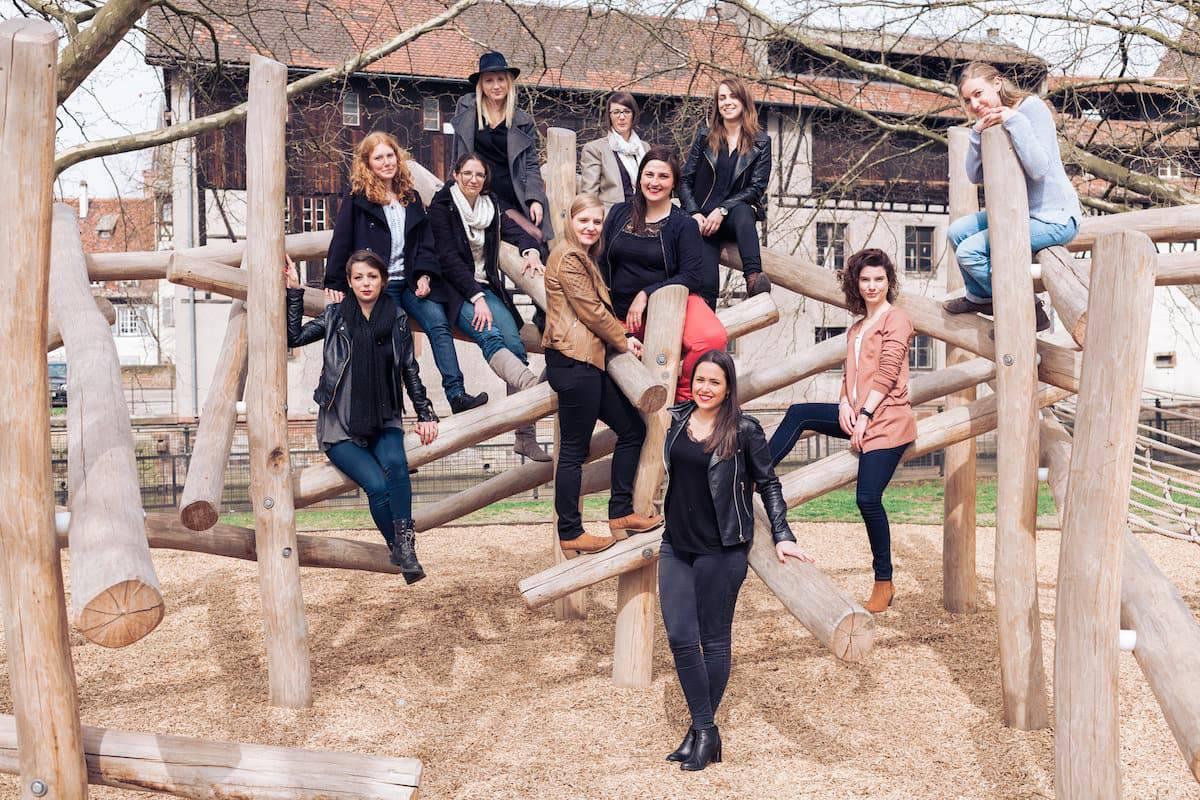 Un EVJF avec copines et temoins a Strasbourg