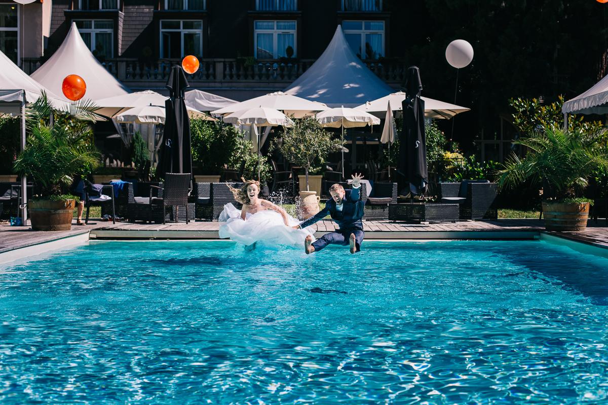Shooting Day After en piscine de l'hotel 2