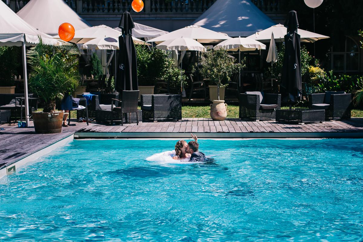 Shooting Day After en piscine de l'hotel 4