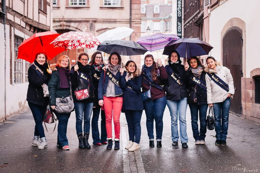 Enterrement de vie de jeune fille à Strasbourg  -