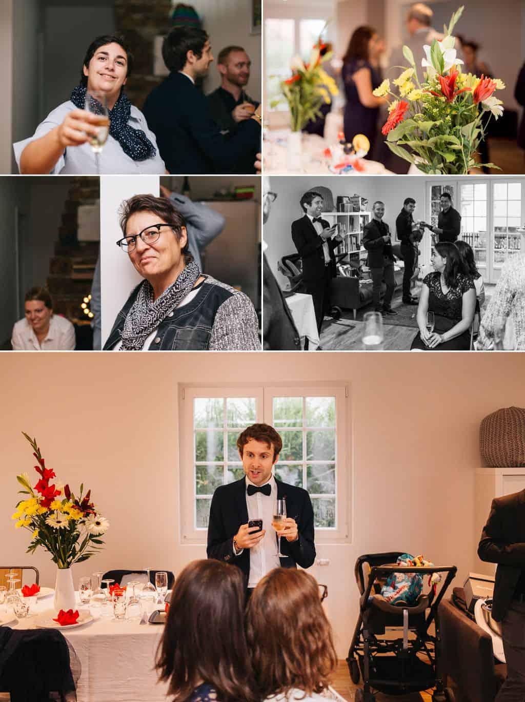 Vin d'honneur à la maison des mariées