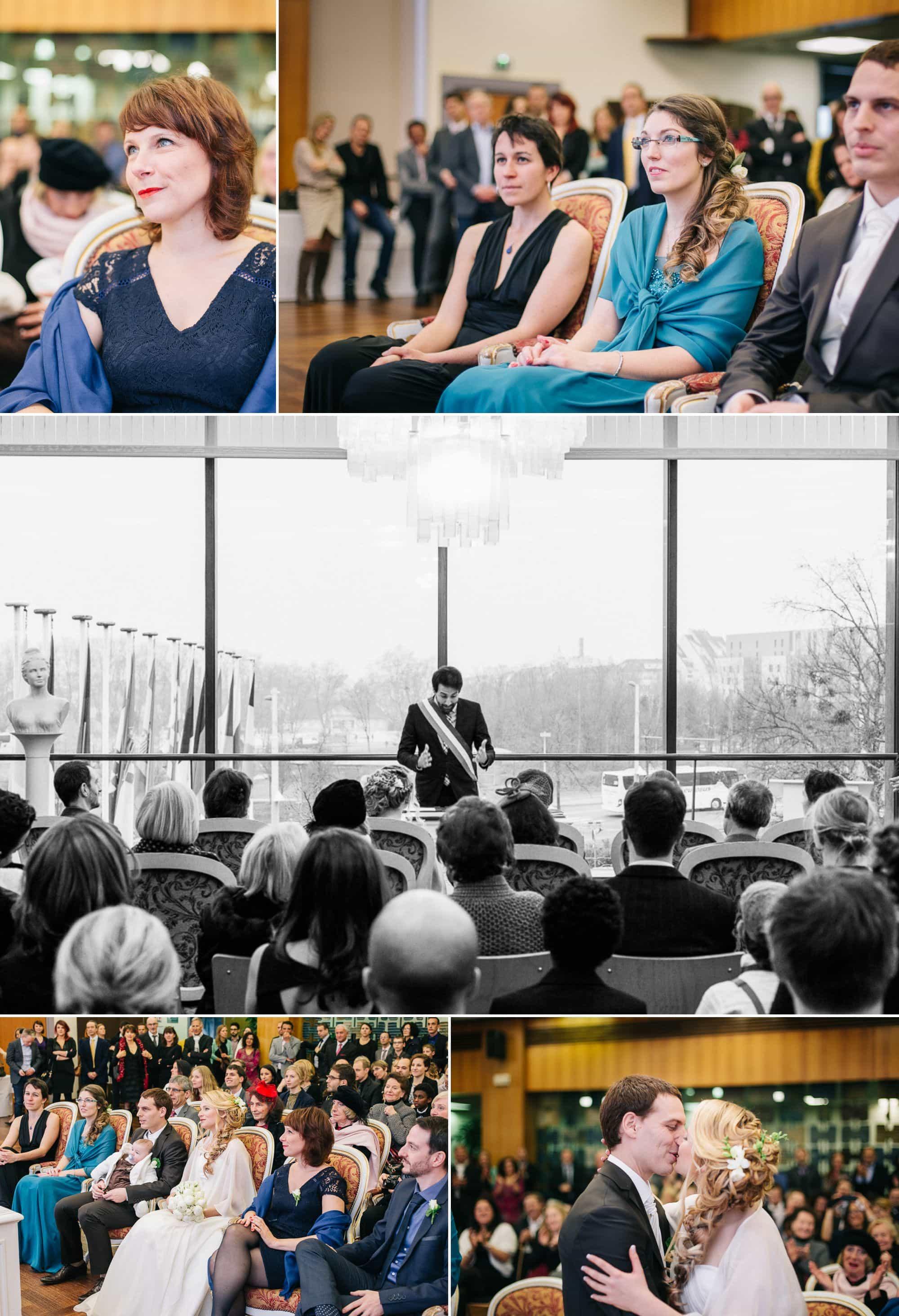 Le mariage en hiver à Strasbourg