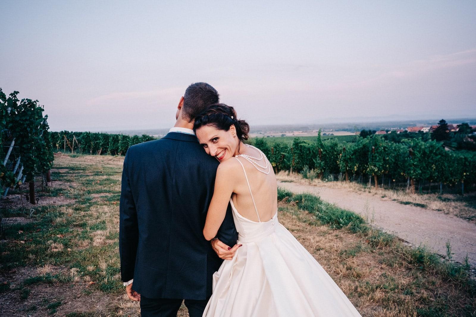 Superbe mariage a l'Hotel Val-vignes à st hyppolite en Alsace