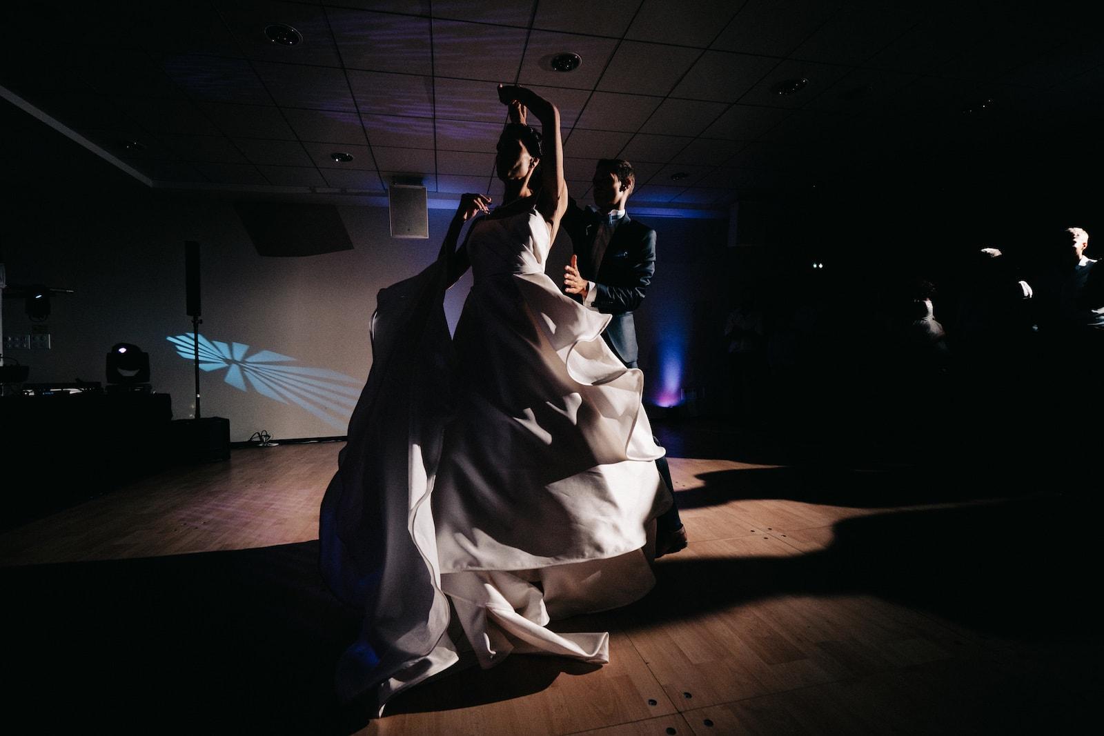 Ouverture du bal lors d'un mariage en Alsace à l'hotel Val-Vignes