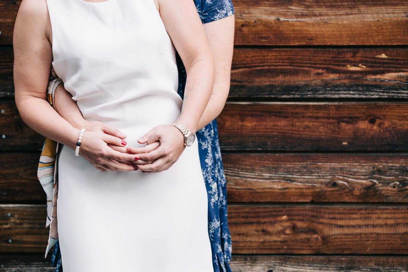 Mariage civil pour un couple de fille à Strasbourg
