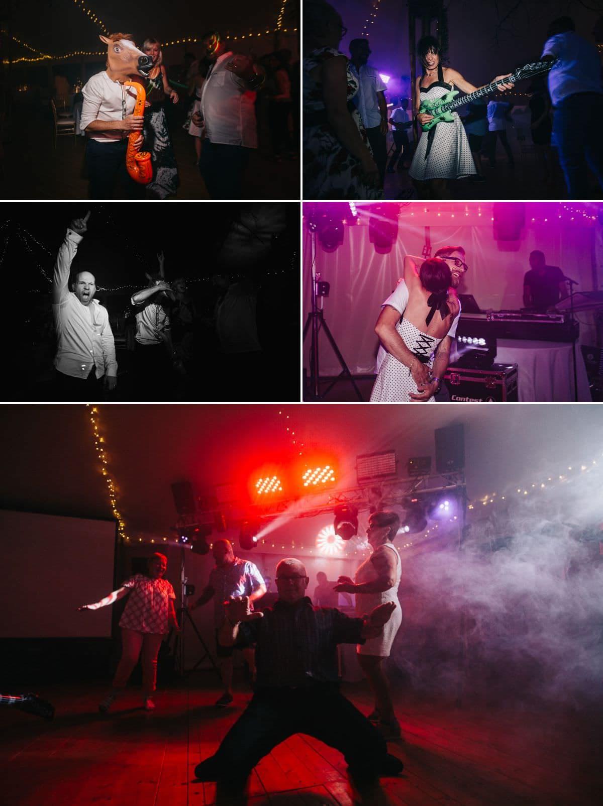 Mariage rock'n'roll au Capella  -