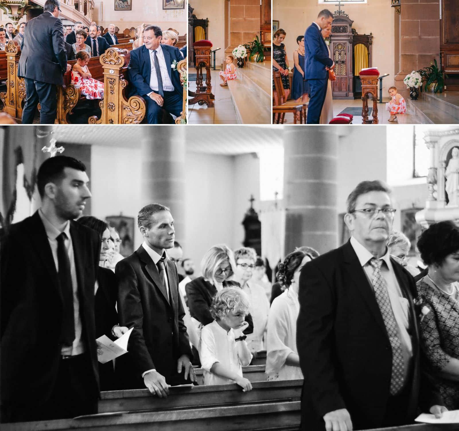 Mariage à l'église de Grendelbruch