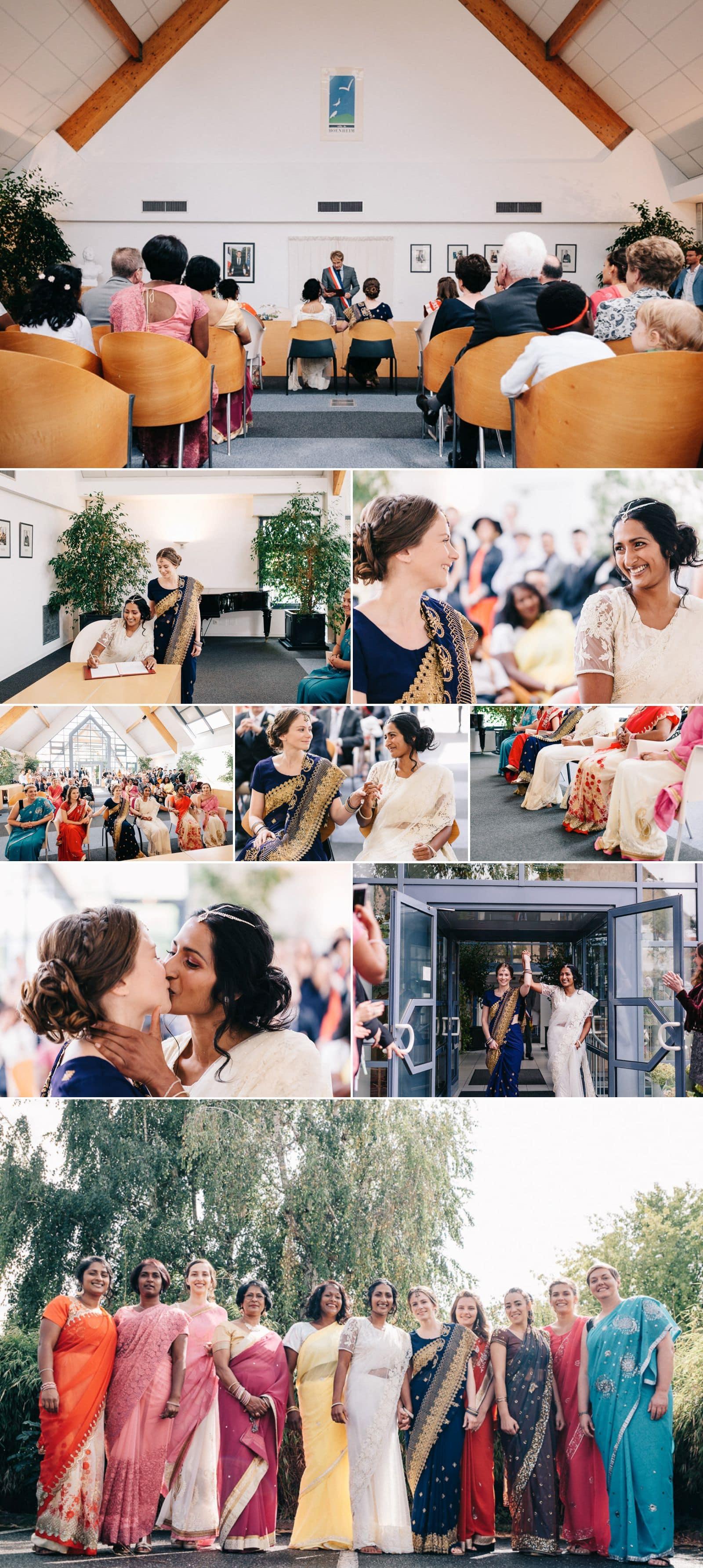 Photographe mariage Strasbourg - La cérémonie Civile