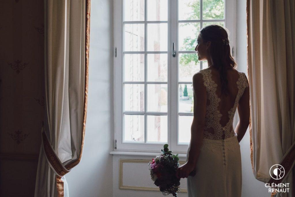 Préparatifs de la mariée au Chateau d'Osthoffen