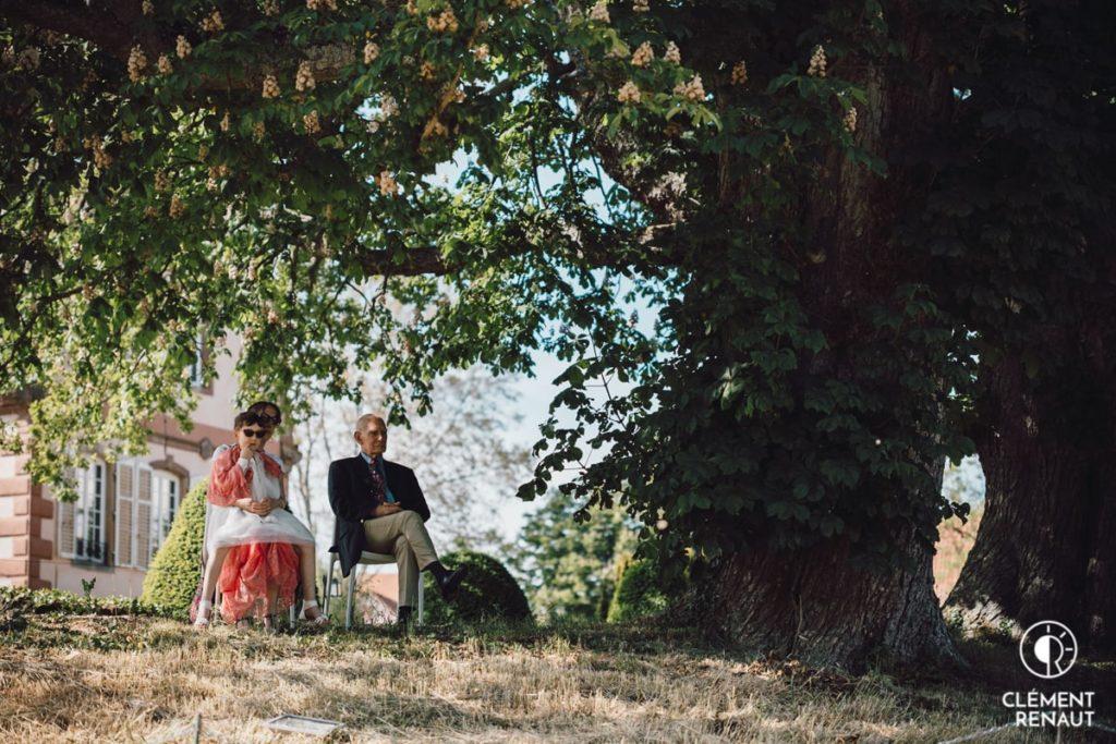 Cérémonie Laique du mariage au chateau d'osthoffen