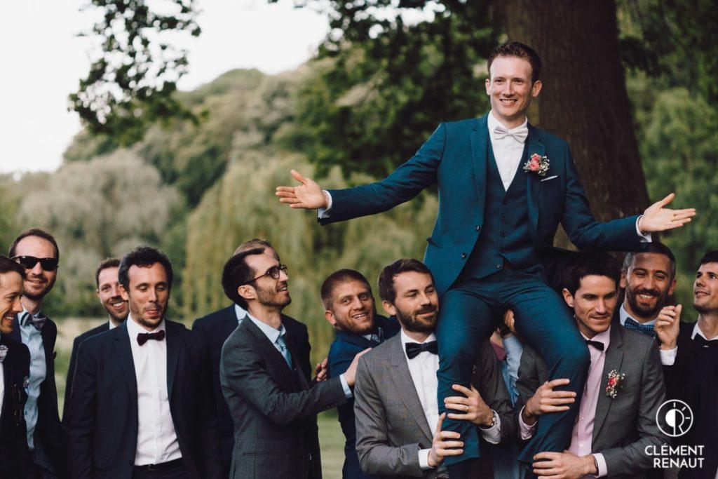 Le cocktail du mariage au chateau d'osthoffen