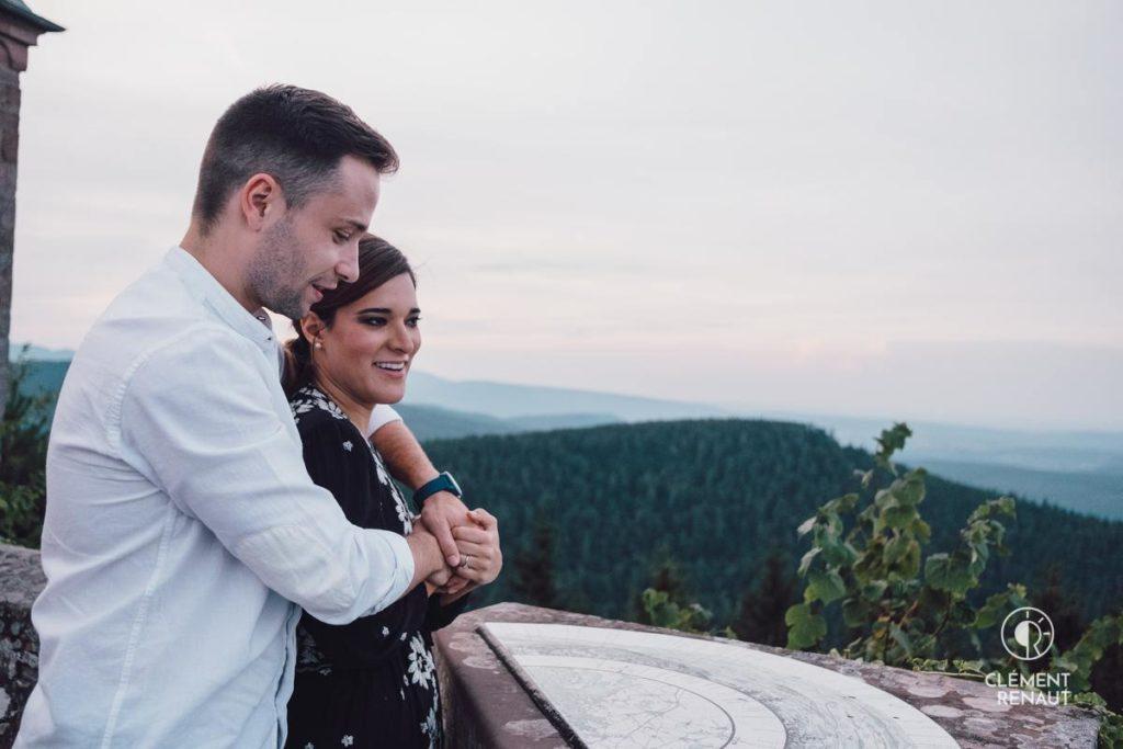 Séance de couple en Alsace
