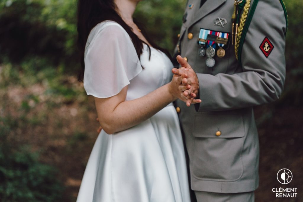 Photo de couple au mariage du Floessplatz