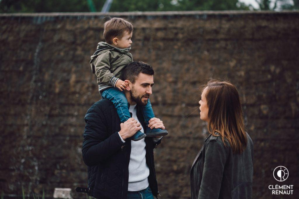 Séance Photo Famille à Strasbourg au Jardin des Deux Rives  -