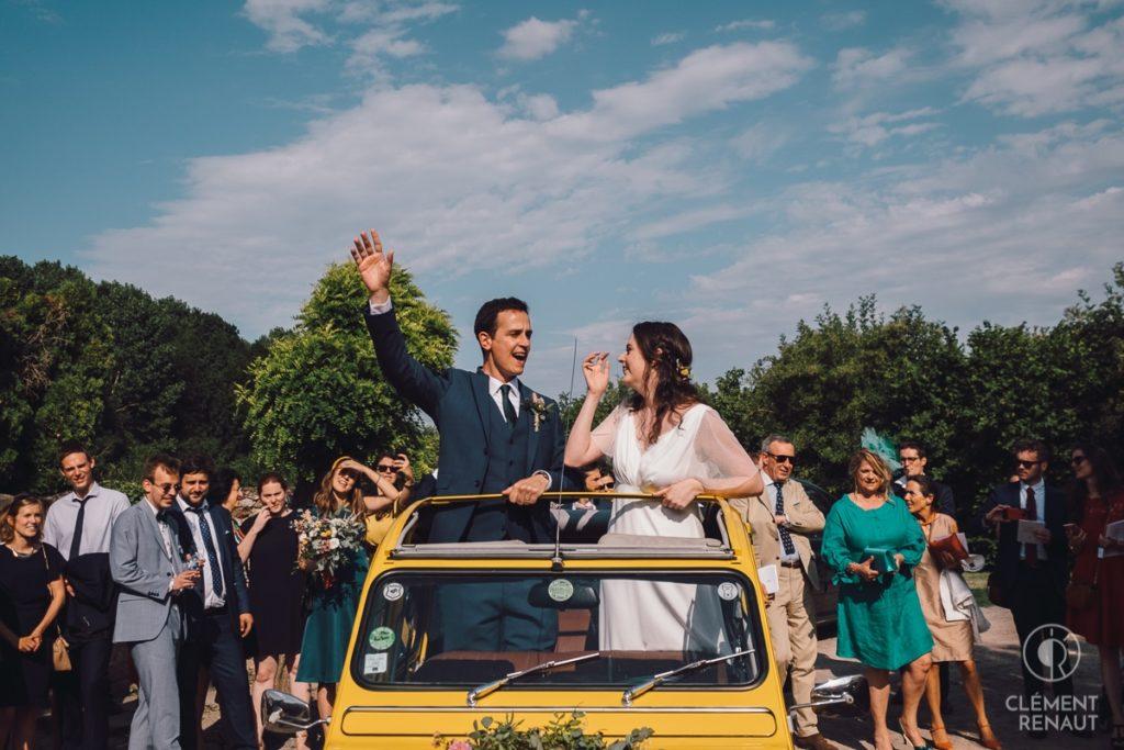 Mariage à l'Eglise Dompeter