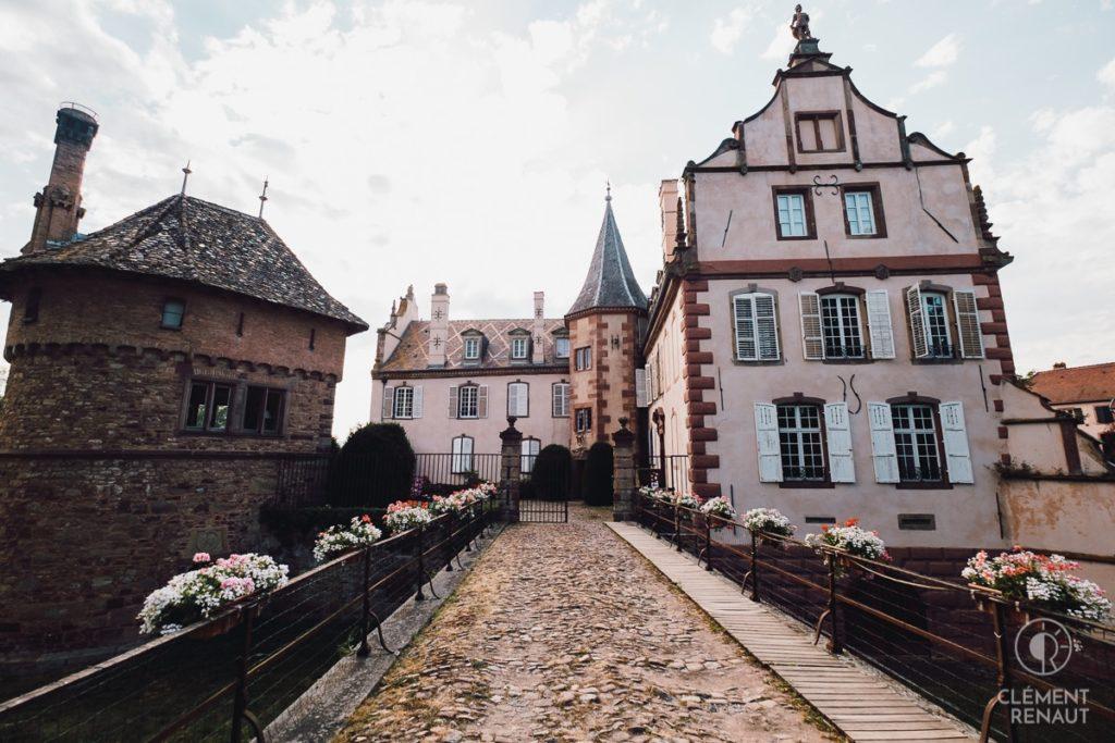 Mariage au chateau d'Osthoffen