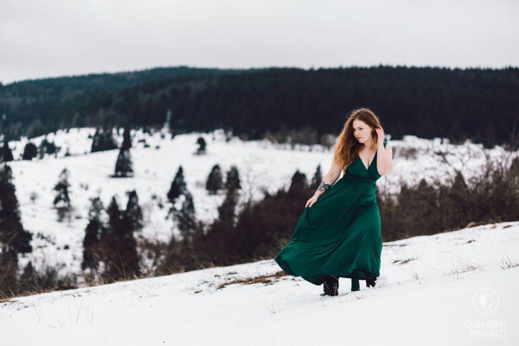 Shooting hivernal dans les Vosges  -