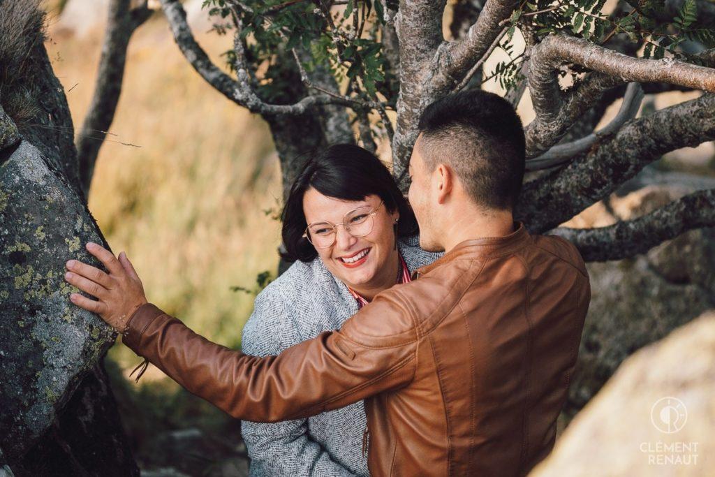 Séance photo de couple au grand air 1
