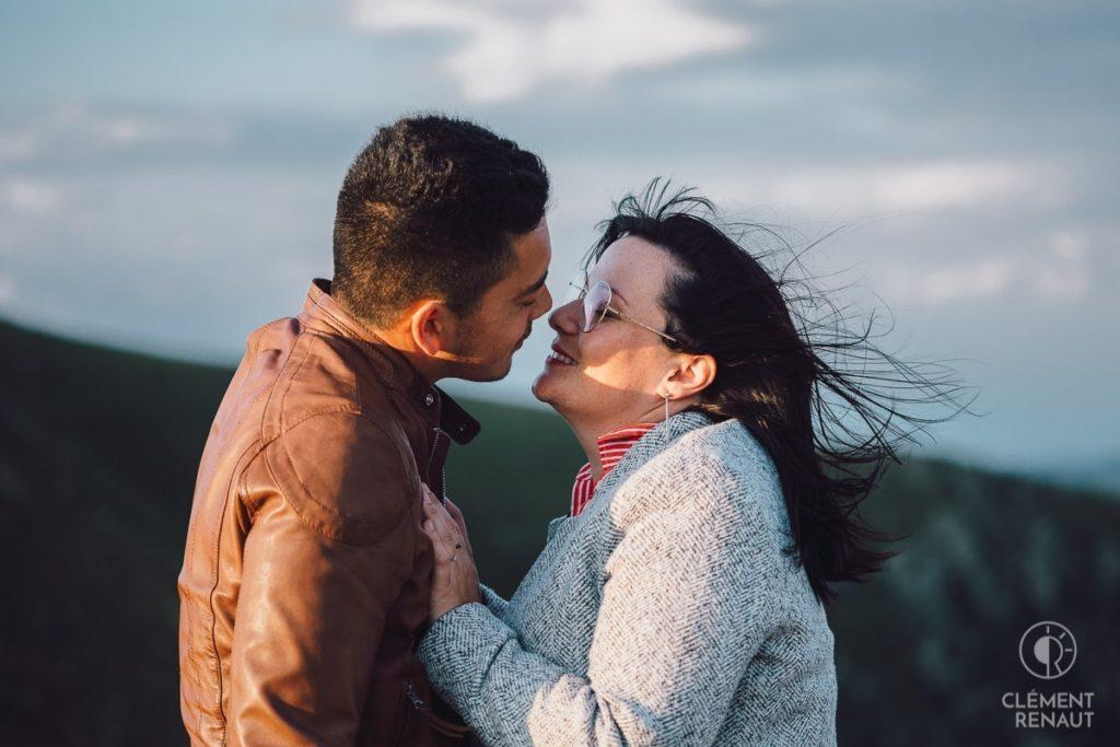 Séance photo de couple au grand air 10
