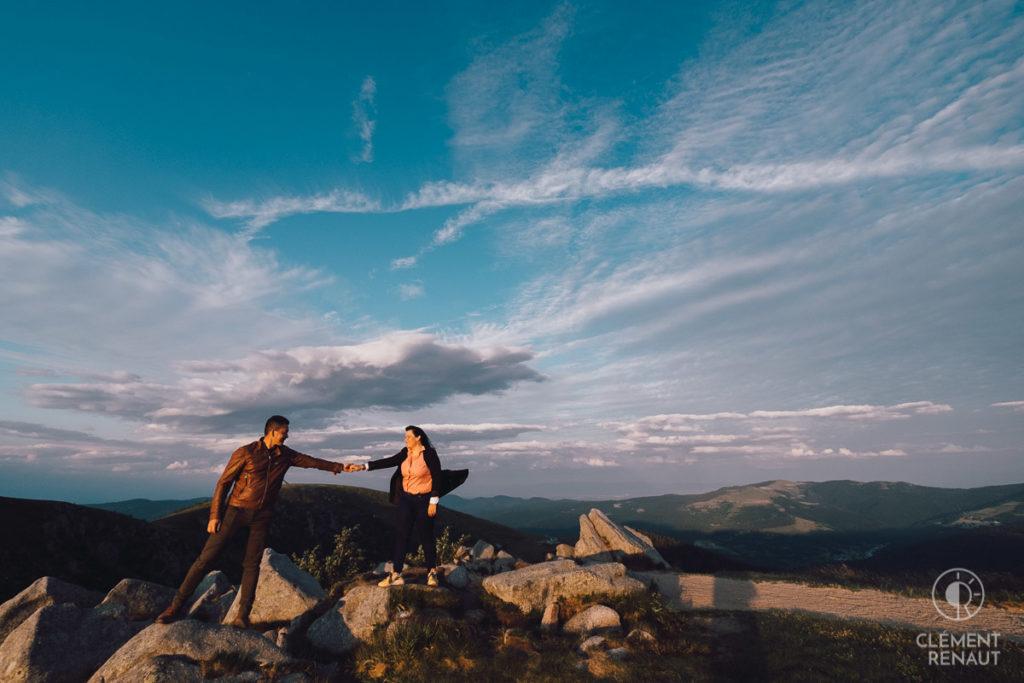 Séance photo de couple au grand air 12