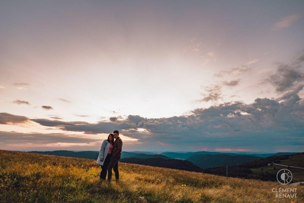 Séance photo de couple au grand air 18