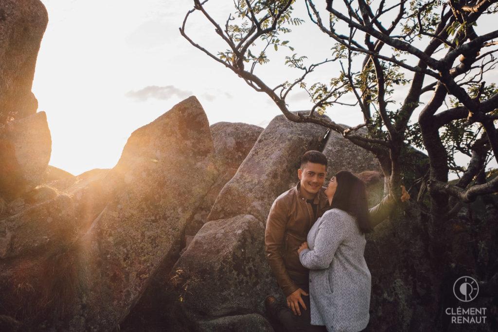 Séance photo de couple au grand air 4