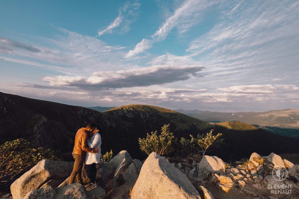 Séance photo de couple au grand air 9