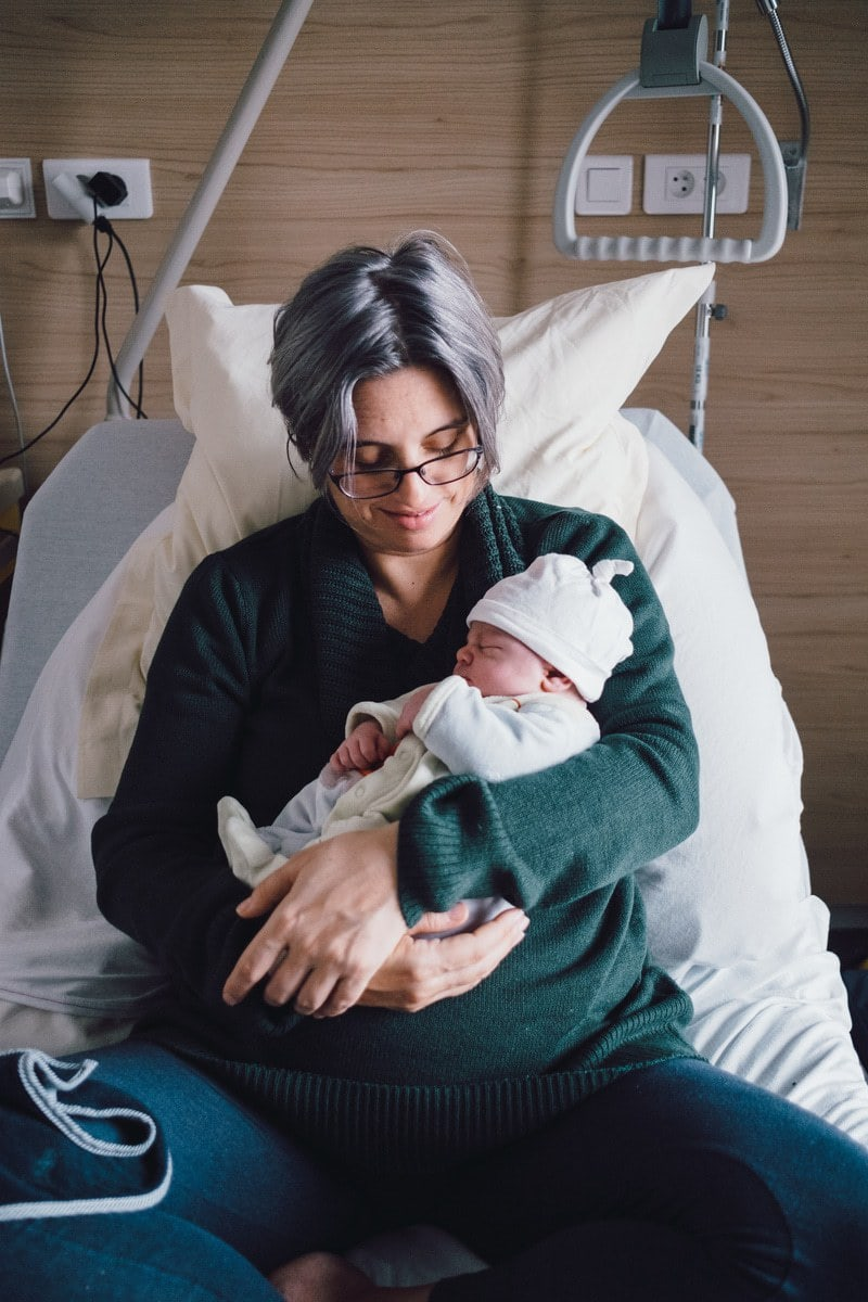 Reportage accouchement - Photographe de Maternité 19